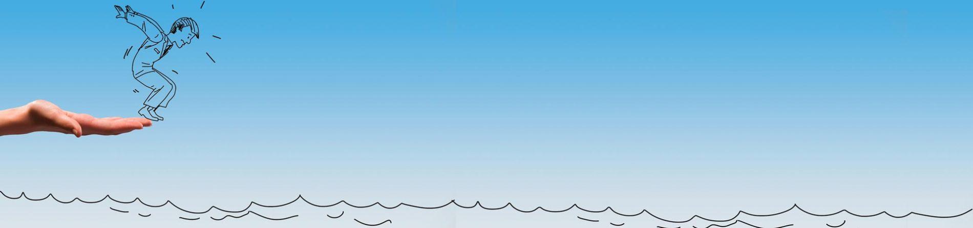 Ein Tropfen Hilfe ist besser als ein Ozean voll Sympathie.