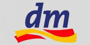Logo dm Drogeriemarkt