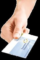 Vorzeigen Ehrenamtskarte